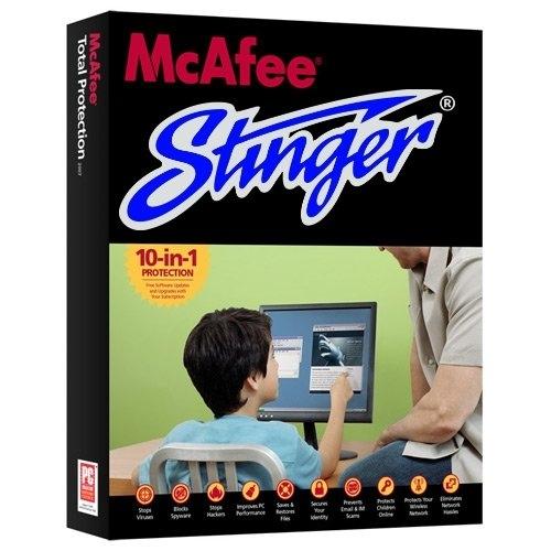 McAfee Stinger 12.1.0.1770 (x86/x64) Portable