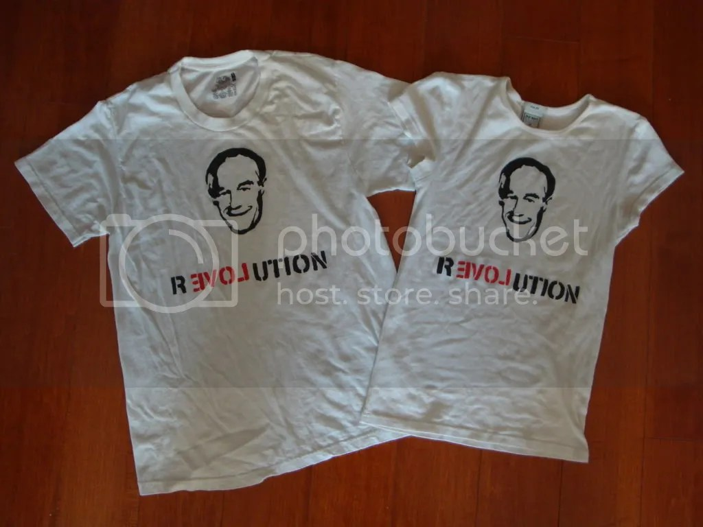 ron paul campaign t-shirt