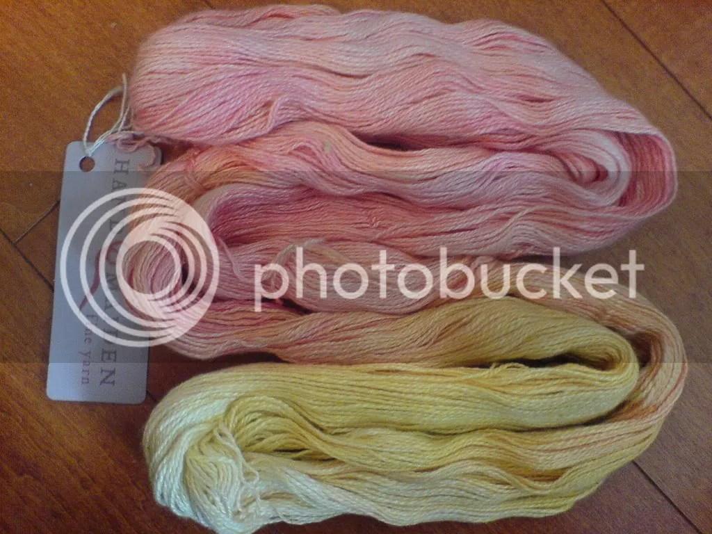 hand maiden 2 ply silk cashmere