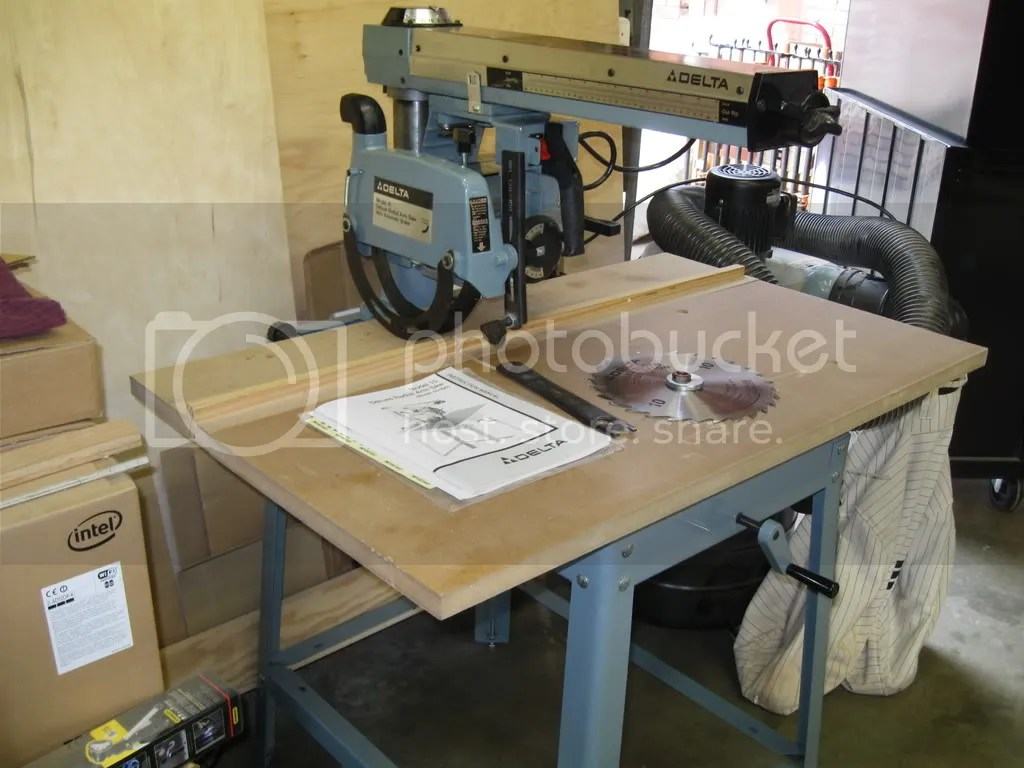 Radial Arm Saw Table Plans