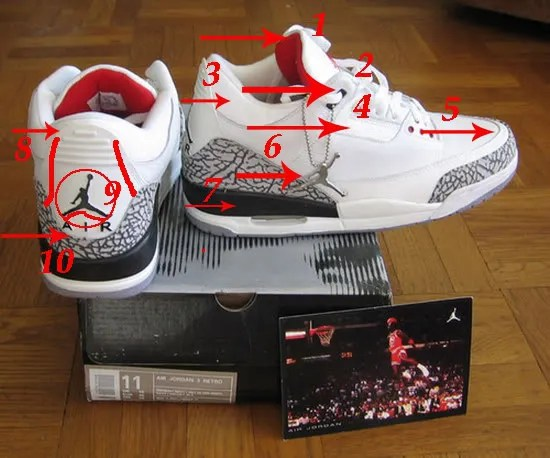 eaa6624726 GUIDE ON HOW TO TELL FROM FAKE AND REAL NIKE AIR JORDANS | CrazyJJ ...