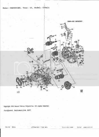 2010 Chevy Cobalt Transmission Diagram. Catalog. Auto