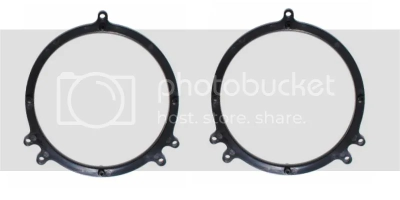Audi A4 A6 TT 6.5'' Speaker Mount Bracket Plate Adapter