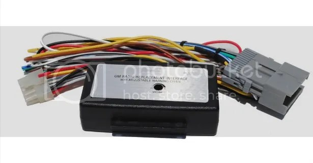 Gm 29 Bit Onstar Aftermarket Radio Wiring Harness Car Stereo