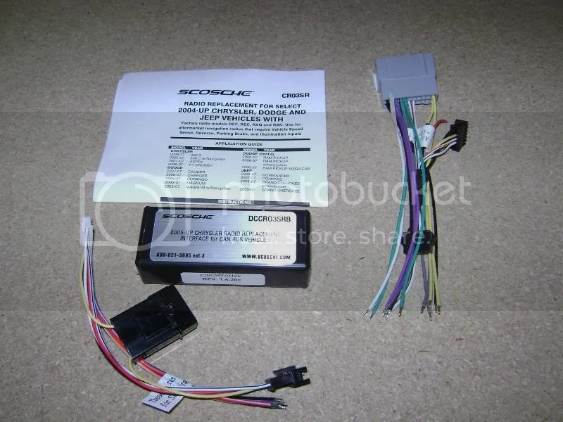 2004 Dodge Dakota Radio Wiring Harness