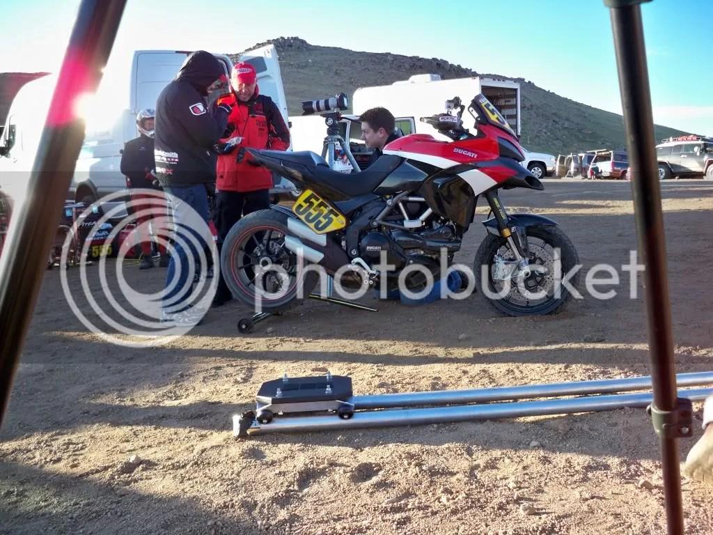 The Ducatis were super-fast all week.