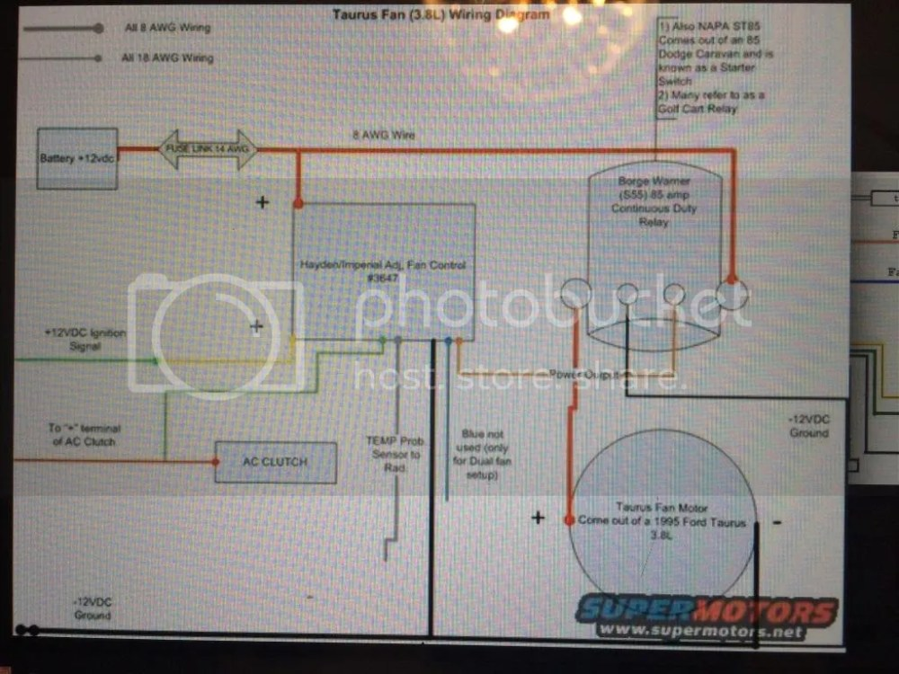 medium resolution of dual efan wiring with continuous duty relay ford bronco forum fan switch capacitor napa fan switch wiring diagrams