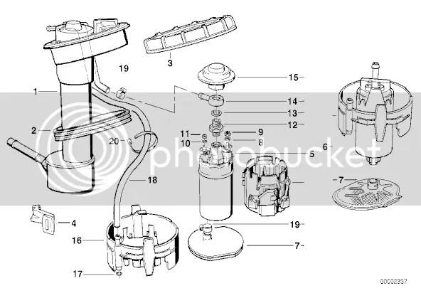 E34 WTB: Fuel tank sending unit