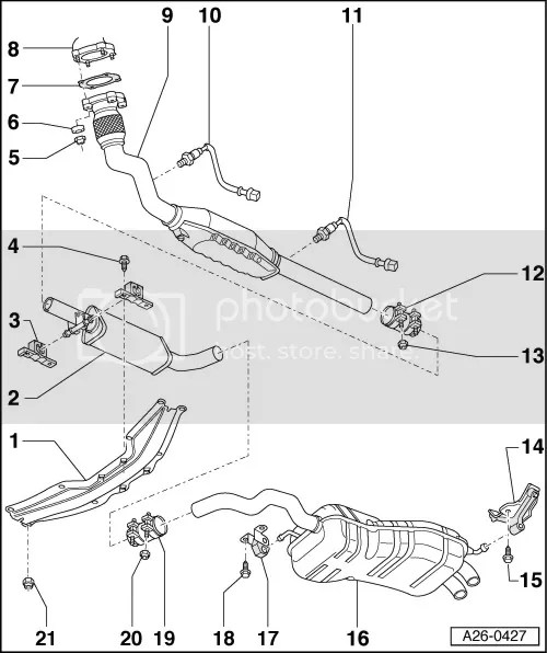 2001 Vw Golf Exhaust Diagram, 2001, Free Engine Image For