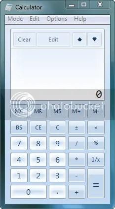 A calculadora também ganhou um visual novo