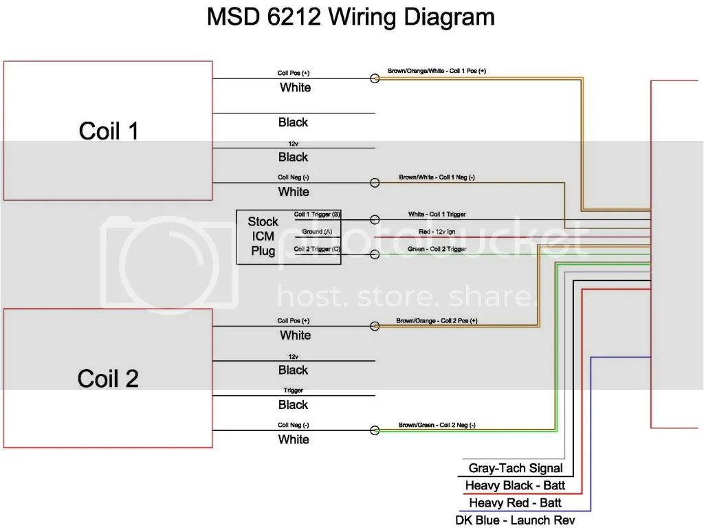 msd dis 2 wiring diagram mass airflow receiver circuit and coils performance forum j body org