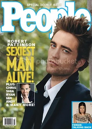 Robert Pattinson People cover