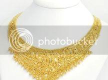 Gold Necklace Photo by atomicice_ | Photobucket