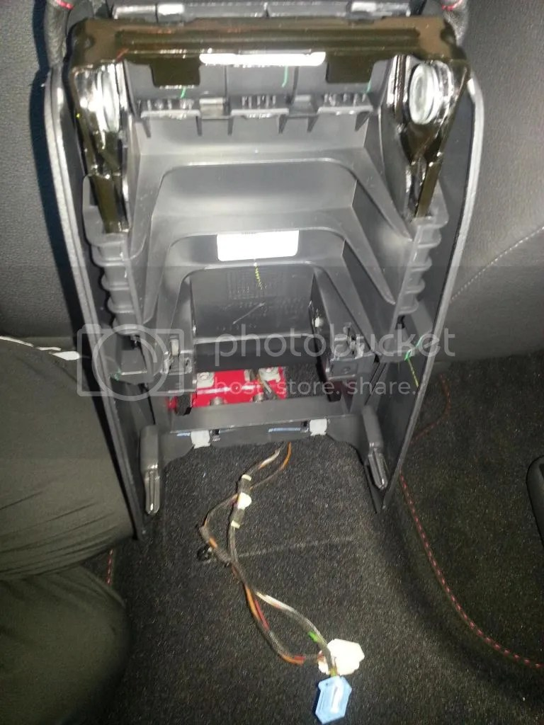 medium resolution of open the center console compartment remove liner and plastic bottom remove 2 screws under there