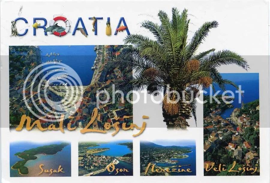 La Bote Aux Lettres Du Monde Carte Postale De Croatie