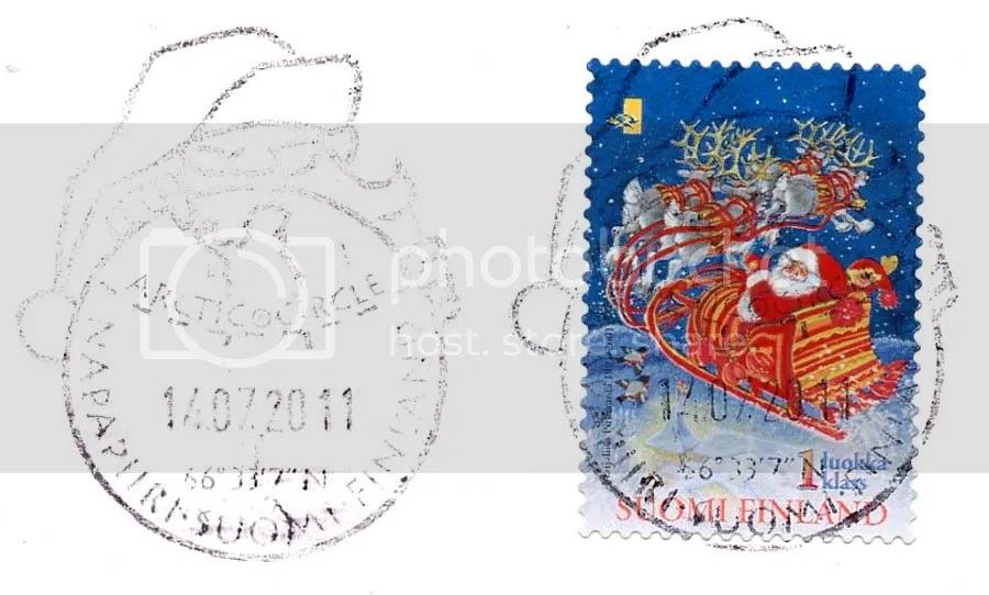 La Bote Aux Lettres Du Monde Carte Postale De Finlande