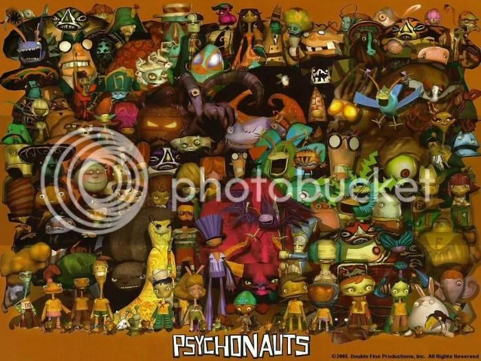 Psychonauts-all characters