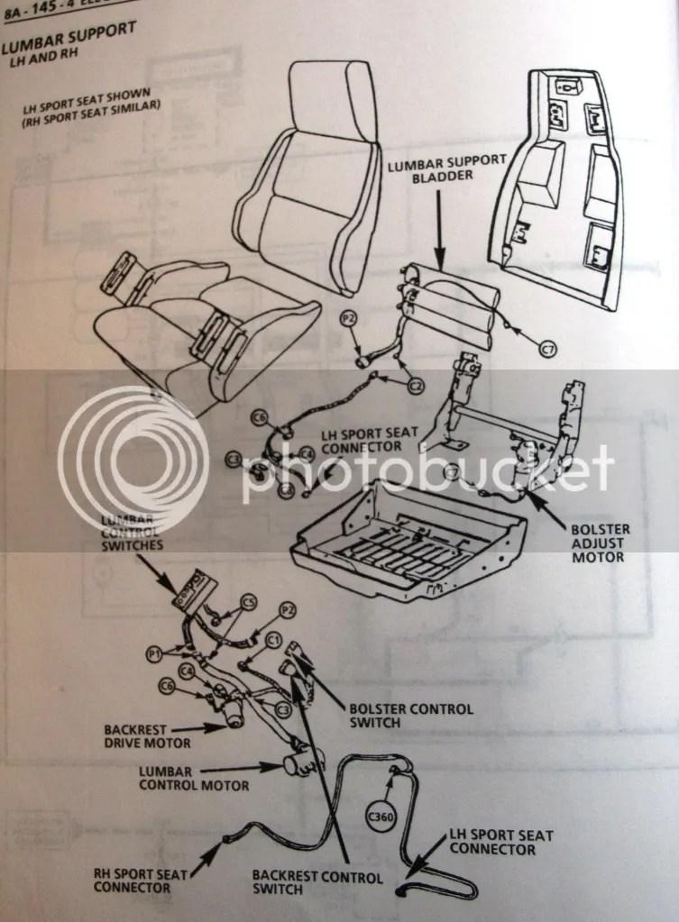 Power Driver Seat Wiring Diagram Needed Corvetteforum Chevrolet