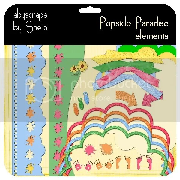 abyscraps Popsicle Paradise elements