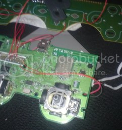 ps controller daughterboard oh and i noticed that the ps2 controller ribbon cable is kinda like [ 1024 x 768 Pixel ]