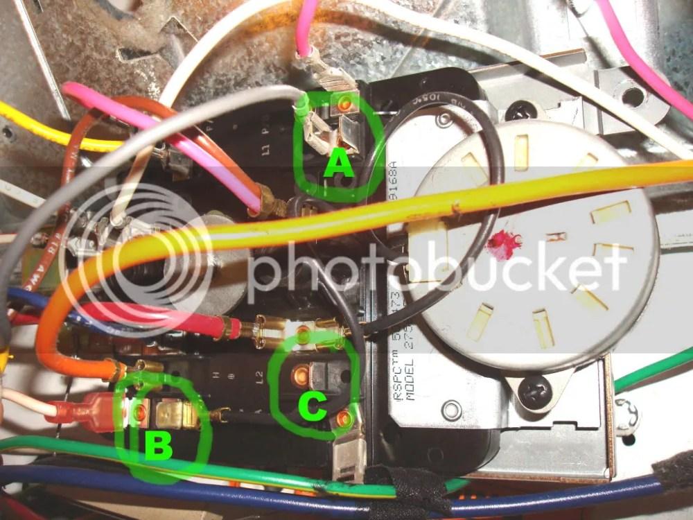 medium resolution of dryer combo estate dryer timer parts 265262 3 s ge we04x10024 dryer