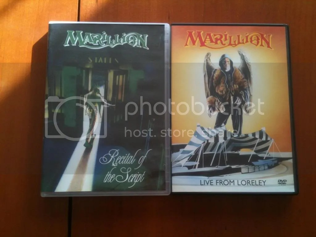 My Marillion DVD