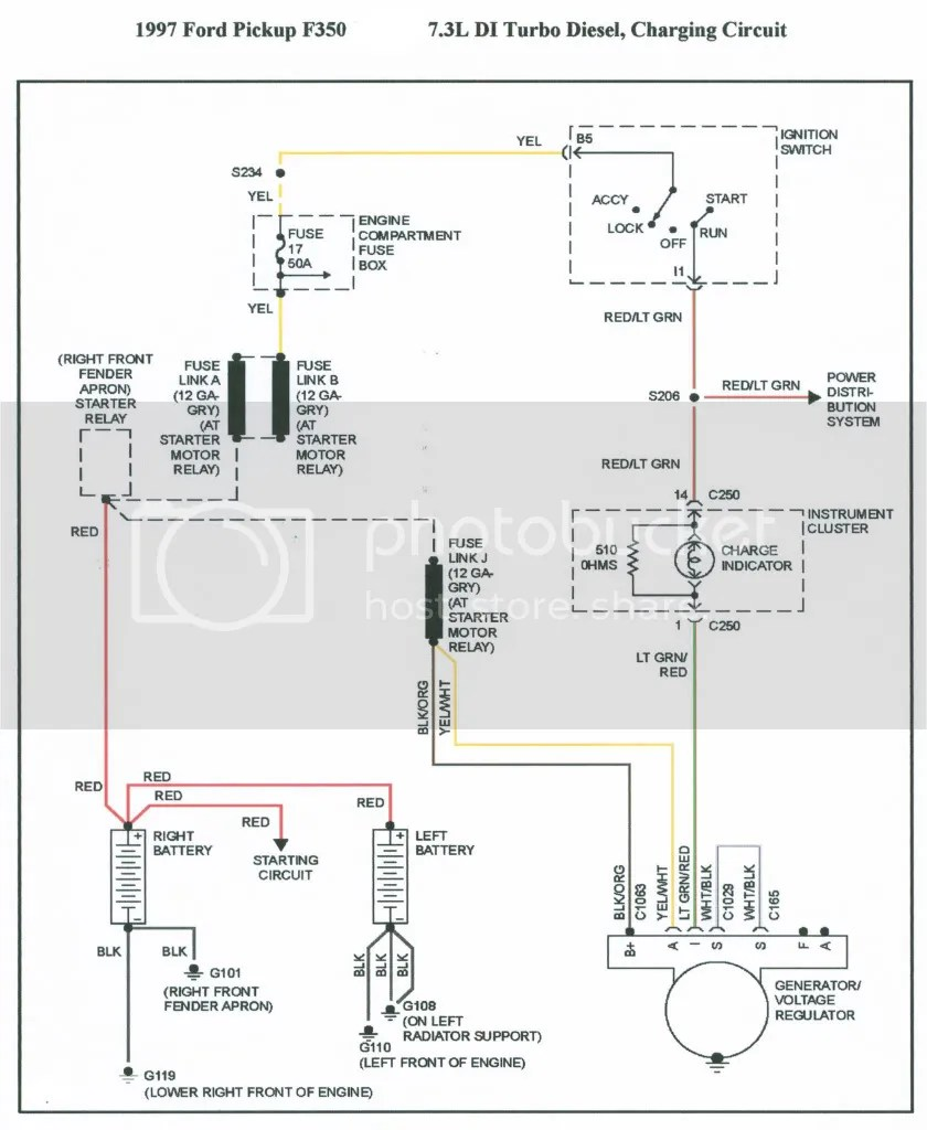 hight resolution of 1978 ford charging system diagram