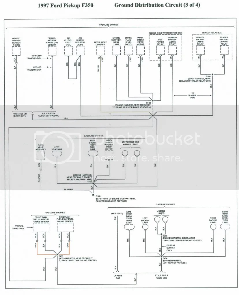 medium resolution of 1996 f 350 instrument p wiring diagram truck forum on ford