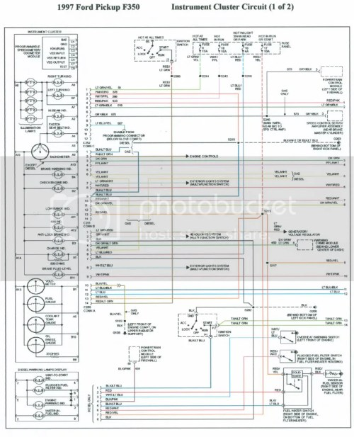 small resolution of 1996 f 350 instrument panal wiring diagram truck forum rh truckforum org 1988 ford f
