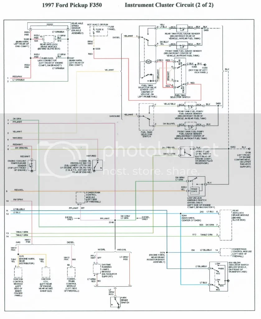 hight resolution of 1995 ford f 350 wiring distributor wiring diagram paperwrg 8096 1995 ford f 350 wiring