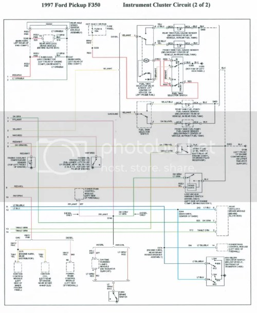 small resolution of 1995 ford f 350 wiring distributor wiring diagram paperwrg 8096 1995 ford f 350 wiring