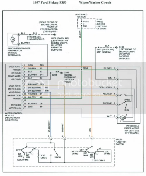 small resolution of 97 ford expedition wiper wiring diagram