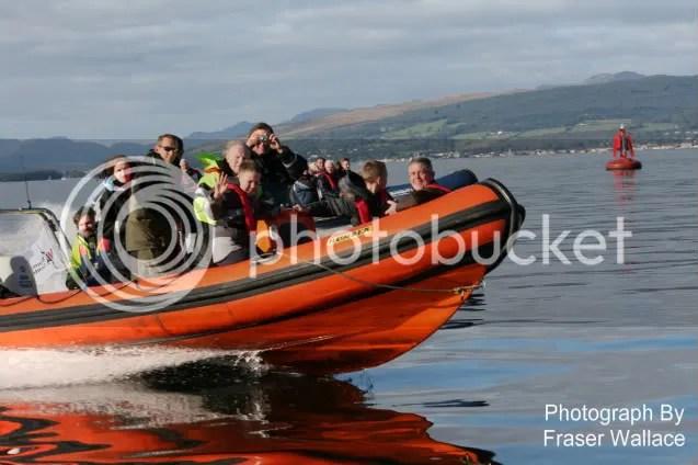 Powerboat Ride Glasgow