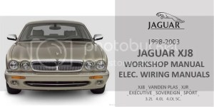 19982003 JAGUAR XJ XJ8 XJR (X308) Workshop Service Repair