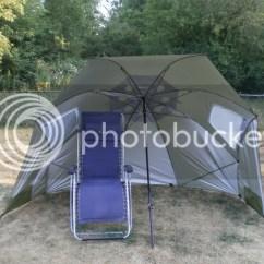 Super Brella Chair Grey Wingback Sport Xl Umbrella From Amazon Bb Andb Braggin 39 Board