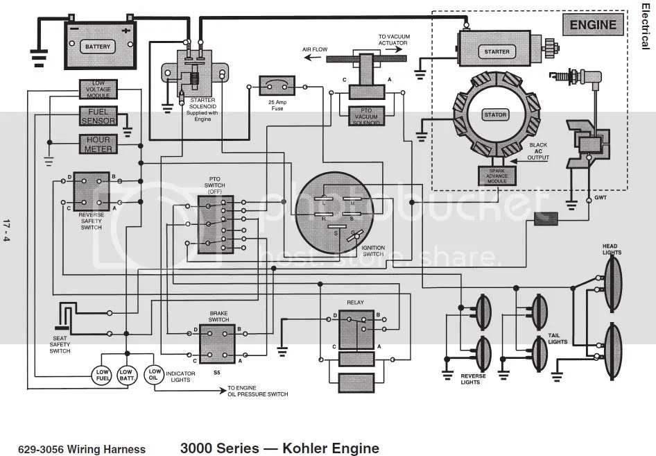 Kubota L4200 Parts Diagram, Kubota, Free Engine Image For
