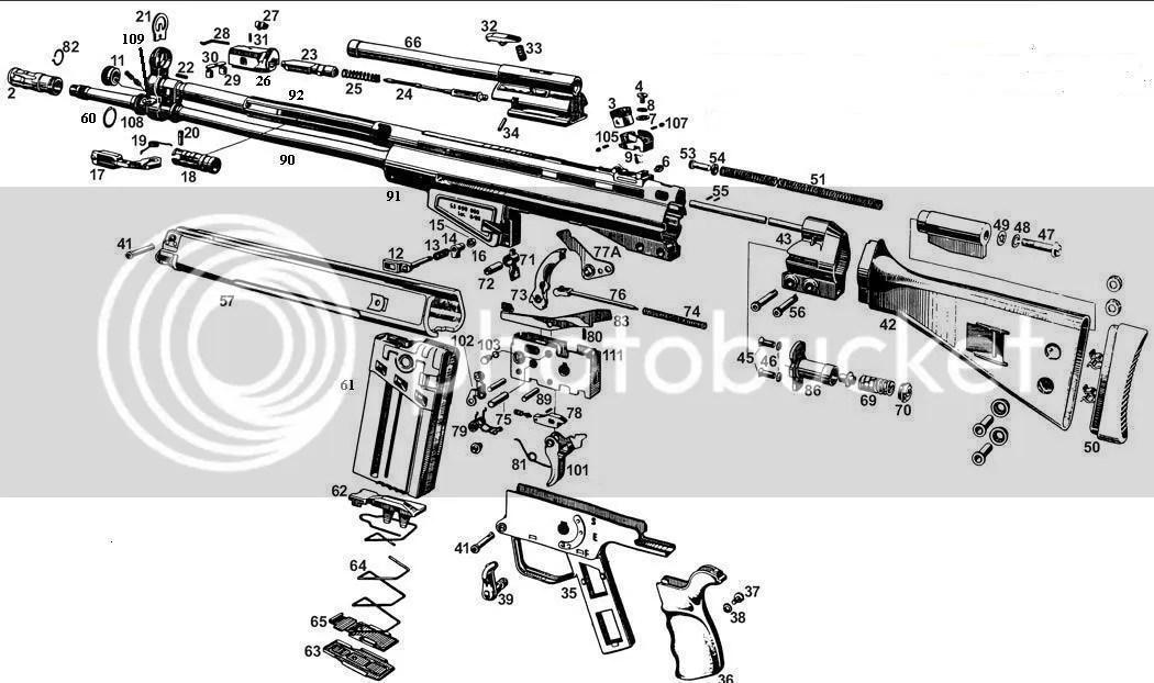 HK 91 assembly diagram