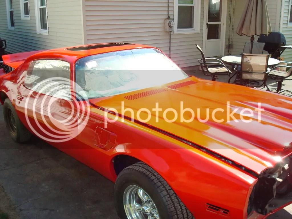 Firebird 67 Colors Paint