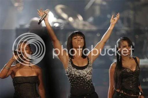 Dawn Robinson with Alicia Keys and Chili