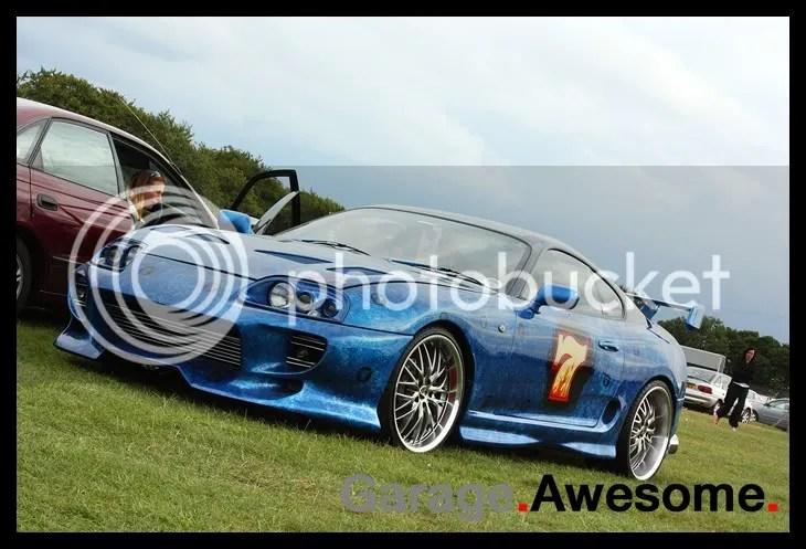 Rob Sarson's Toyota Supra