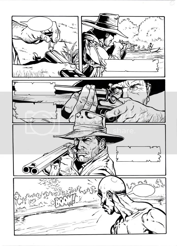 ALLAN QUATERMAIN returns in a new graphic novel in Horror