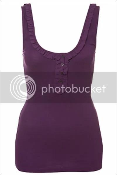 Topshop basic vest top