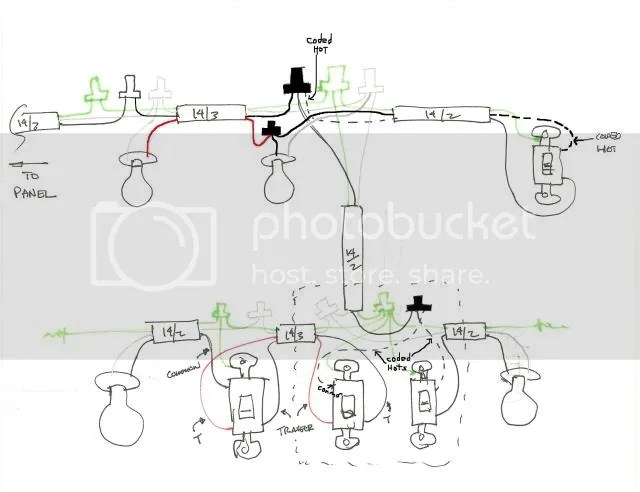 Diagram For Wiring Lights And Outlets On Same Circuit : 53