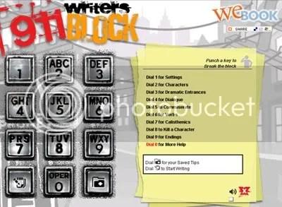 911 writersblock
