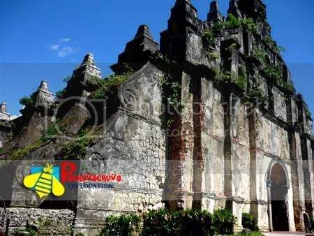 paoay church facade