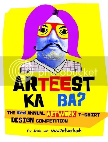 Arteest Ka Ba? T-shirt design contest