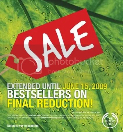 bodyshop final reduction sale