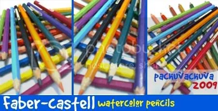 faber-castell watercolor pencils