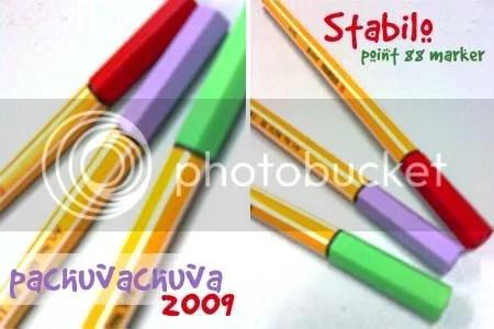 stabilo markers