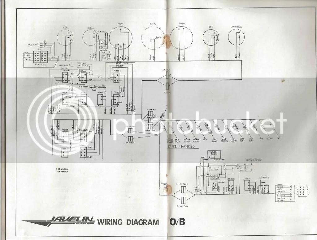 1989 javelin wiring diagram electrical wiring diagram guide Yamaha Boat Wiring Diagram